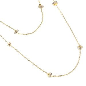 SALE🔥 NWT J. Crew double-strand crystal necklace